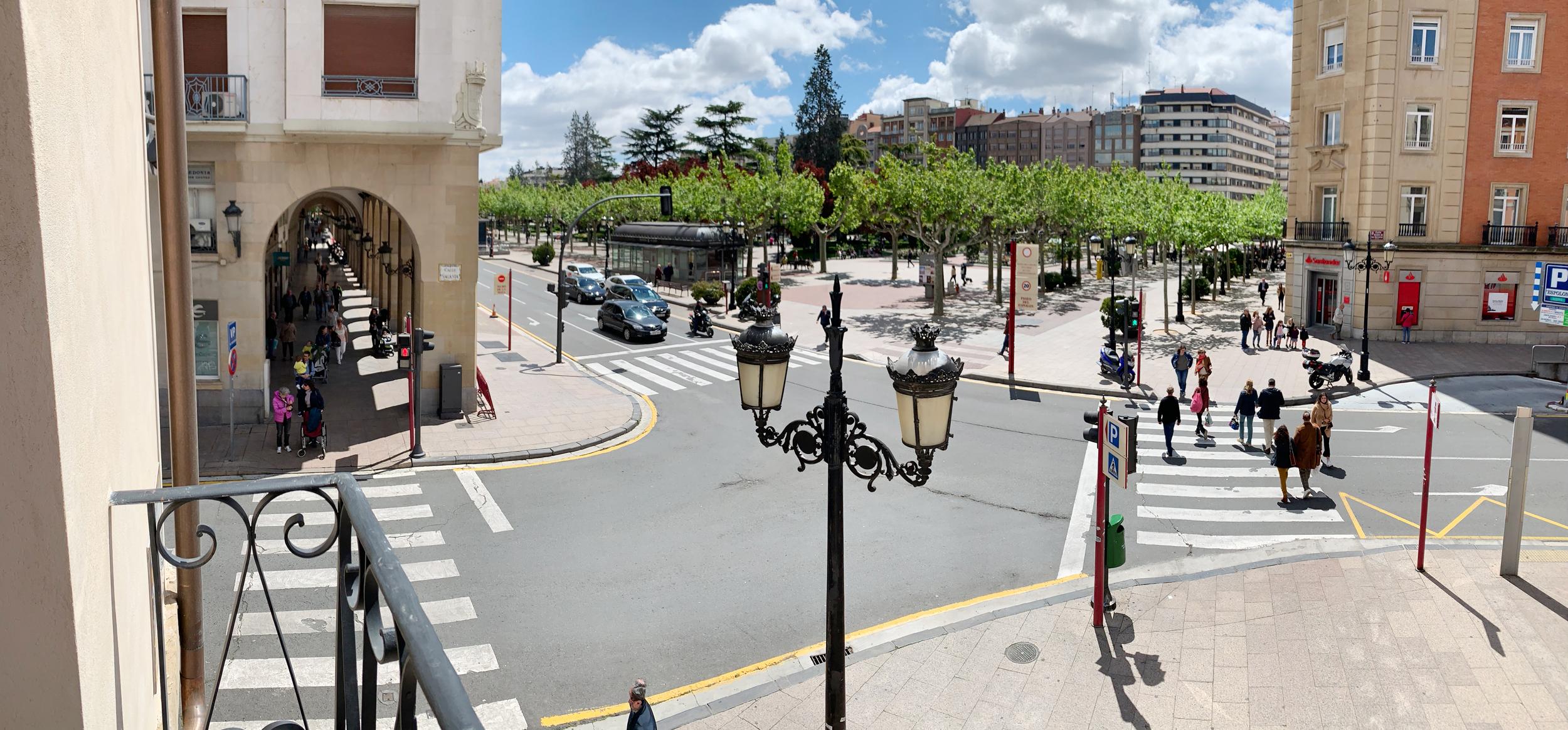 En el centro de Logroño